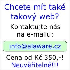 Cloudový webový systém NÁDBĚLA WEB. Od Kč 350,-!